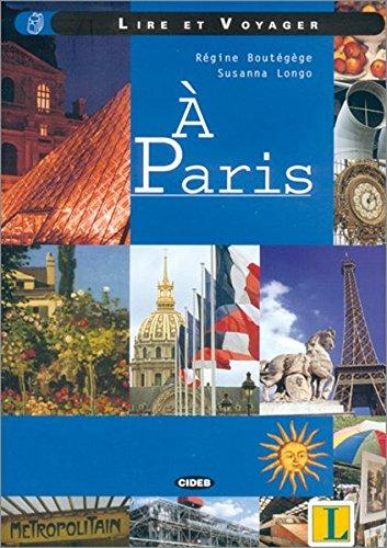 9783468484421: Lire et Voyager - A Paris. Mit CD