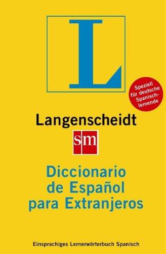 9783468490217: Langenscheidt Ediciones sm Diccionario de Espaà±ol para Extranjeros