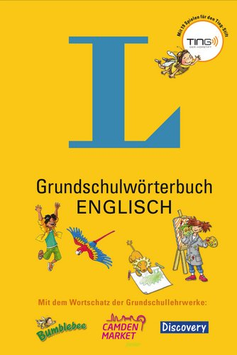9783468490606: Grundschulwörterbuch Englisch - Buch + Ting-Spiele