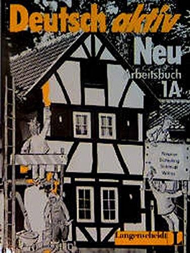 9783468491016: Deutsch Aktiv Neu Level 1a: Workbook (German Edition)