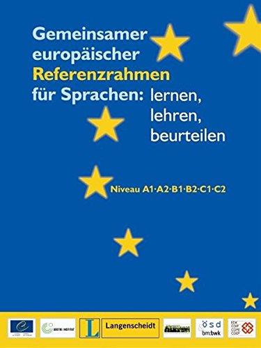 9783468494697: Gemeinsamer Europaischer Referenzrahmen Fur Sprachen