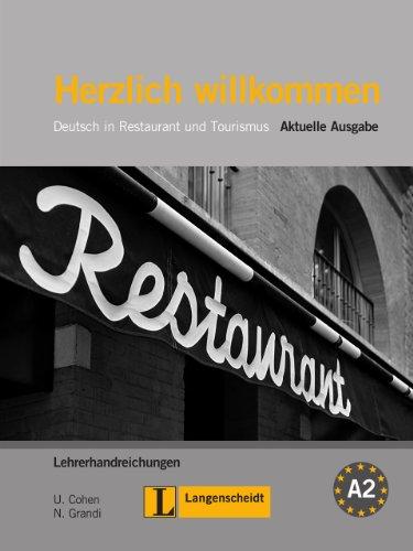 9783468494710: Herzlich willkommen. Lehrerhandreichungen: Deutsch in Restaurant und Tourismus: Neue Literatur Von Frauen