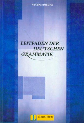 9783468494956: Leitfaden der deutschen Grammatik (Obras de referencia)