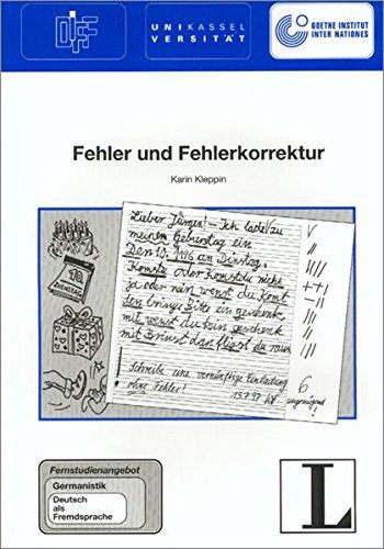 9783468496561: Fehler Und Fehlerkorrektur (German Edition)