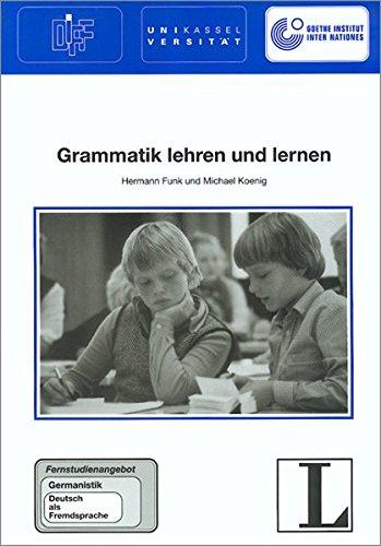 9783468496790: Grammatik Lehren Und Lernen
