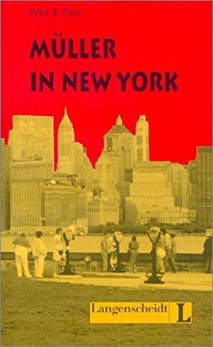 9783468496929: Müller in New York (nivel 3): Muller in New York (Lecturas monolingües)
