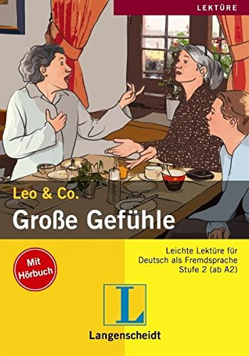 9783468497520: Grosse Gefühle con CD audio (Nivel 2) (Lecturas monolingües)