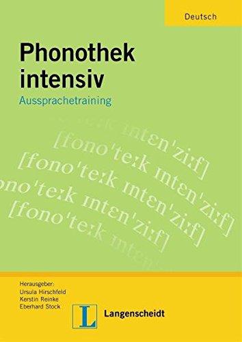 9783468497643: Phonothek Intensiv: Aussprachetraining - Arbeitsbuch (German Edition)