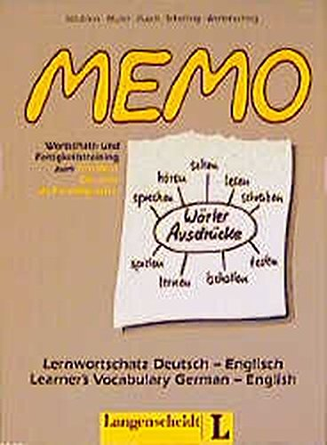 9783468497933: Memo (German Edition)