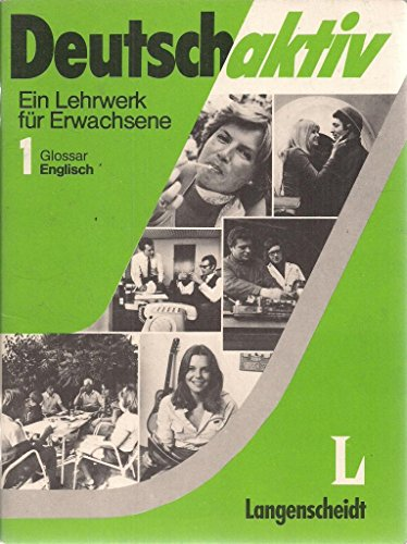 9783468499302: Deutsch Aktiv - Level 1: Glossar Deutsch-Englisch 1