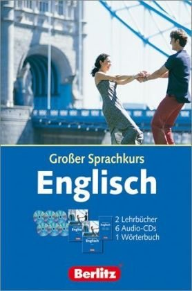 9783468730108: Berlitz Grosse Sprachkurse. Das umfangreiche Kurspaket zum Sprachenlernen: Englisch