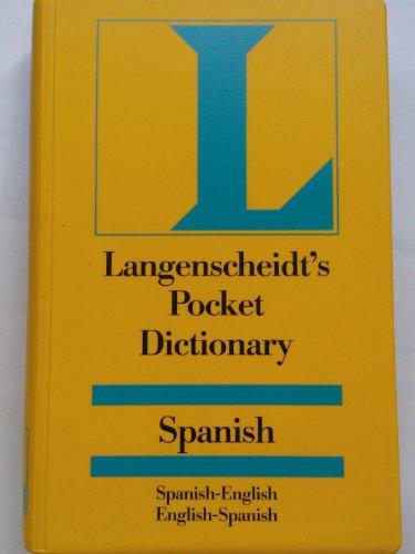 Langenscheidt's Pocket Spanish - English Dictionary: N/a