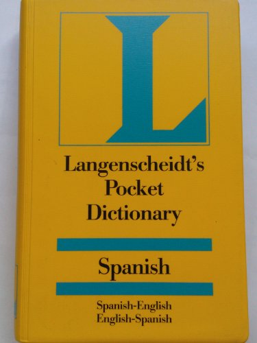 9783468730252: Langenscheidt's Pocket Spanish - English Dictionary