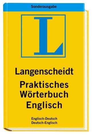 9783468730573: Englisch. Langenscheidt Praktisches Wörterbuch. Schnäppchenpreis! Amazon.de Sonderausgabe.