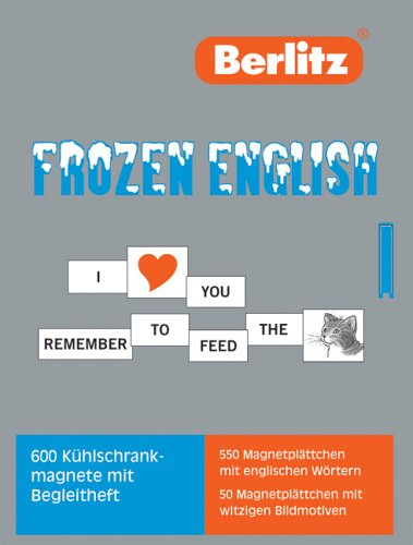 9783468790829: Berlitz Frozen English [Sondereinband]