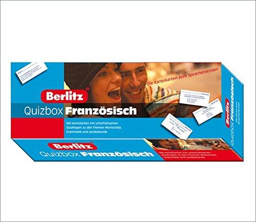 9783468790911: Berlitz Quizbox Französisch