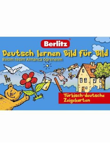 9783468794087: Deutsch lernen Bild f�r Bild - 100 Zeigekarten: T�rkisch-deutsche Zeigekarten