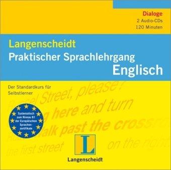 9783468802690: Langenscheidt Praktischer Sprachlehrgang Englisch -4 CDs: Der Standardkurs für Selbstlerner
