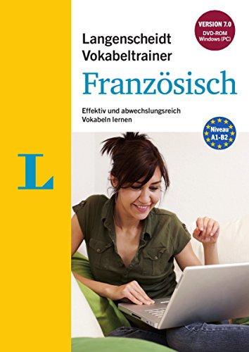 9783468911590: Langenscheidt Vokabeltrainer 7.0 Franz�sisch --ROM : Effektiv und abwechslungsreich Vokabeln lernen, Deutsch-Franz�sisch [import allemand]