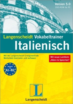 9783468911781: Langenscheidt Vokabeltrainer 5.0 Italienisch. Windows 7; Vista; XP; 2000: Mit der Langenscheidt-Erfolgsmethode Wortschatz trainieren und aufbauen
