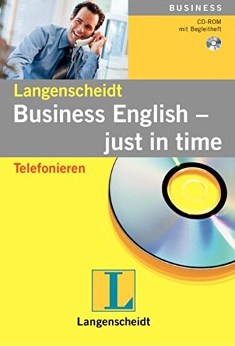 9783468912795: Just in Time Telefonieren Business Englisch