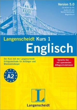 9783468913112: Langenscheidt Kurs 1 Englisch 5.0. Windows 7; Vista; XP; 2000