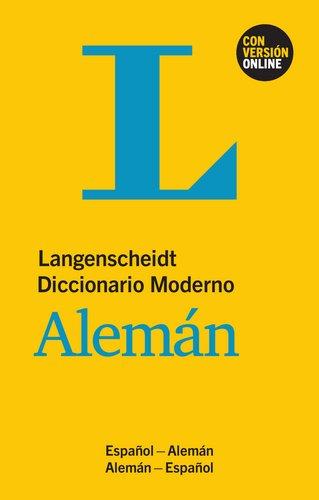 9783468960475: Langenscheidt Diccionario Moderno Alemán - Buch und Online: Espanol - Alemán / Alemán - Espanol \ \ Deutsch-Spanisch / Spanisch-Deutsch (German Edition)