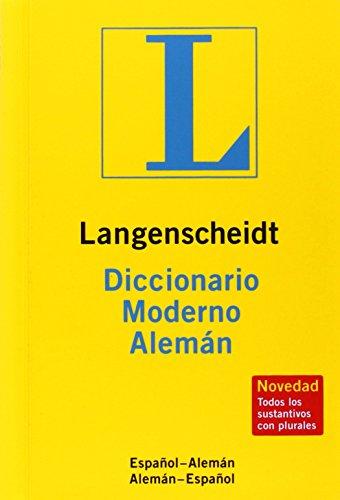 9783468960482: Langenscheidt moderno aleman esp /esp aleman