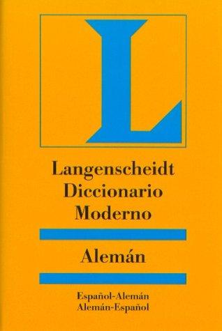 9783468960505: Diccionario moderno. Alemán-español español-alemaned. disponible: 9783468960543