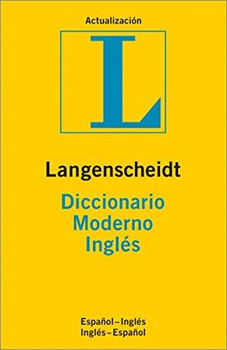 9783468960536: Diccionario moderno ingles-español, español-ingles