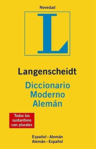 9783468960543: DIC LANG MODERNO ALEM/ESP