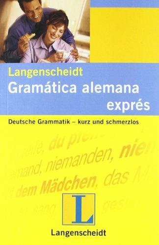 9783468960611: Gramática alemana exprés (Material complementario)