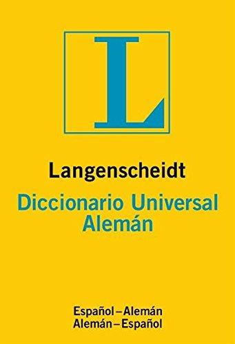 9783468961137: Diccionario Universal alemán/español