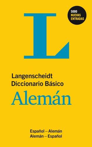 9783468961175: DIC LANG BASICO ALEMA/ESP [Paperback]