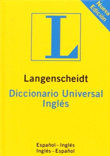 9783468961861: DICC. UNIVERSAL INGLES-ESPAÑOL