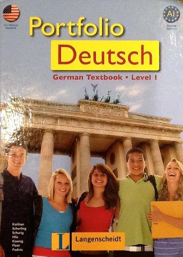 9783468966019: Portfolio Deutsch (German Textbook - Level 1)