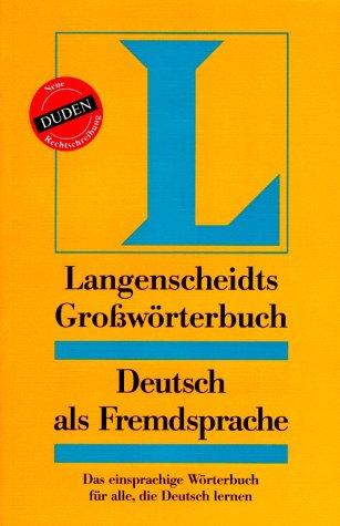 Großwörterbuch: Gotz, Dieter; Haensch,