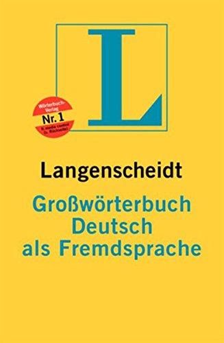 9783468967054: Langenscheidts Grosswoerterbuch Deutsch als Fremdsprache (German Edition)