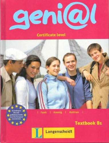 9783468967375: Genial Deutsch als Fremdsprache fur Jegendliche: B1 Kursbuch (German Edition)