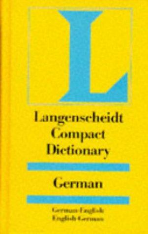 9783468970719: Langenscheidt Compact Dictionary German: German-English, English-German (Langenscheidt compact dictionaries)