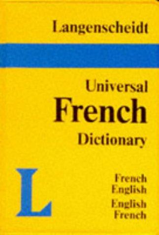 9783468971624: Langenscheidt Universal French Dictionary: French-English, English-French (Langenscheidt Universal Dictionaries)