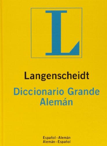 9783468978111: Diccionario Grande alemán/español