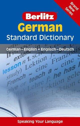 9783468979637: Berlitz German Standard Dictionary: German - English. Englisch - Deutsch