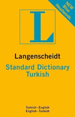 9783468980633: Langenscheidt Standard Dictionary Turkish (Langenscheidt Standard Dictionaries)
