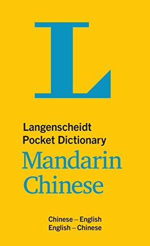 Langenscheidt Pocket Dictionary Mandarin Chinese: Chinese-English / English-Chinese