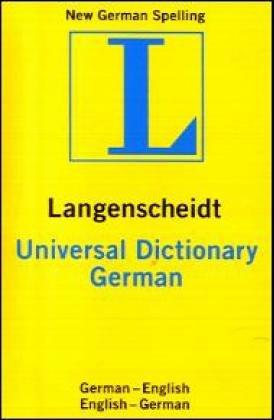 Universal German Dictionary (3468981600) by Langenscheidt