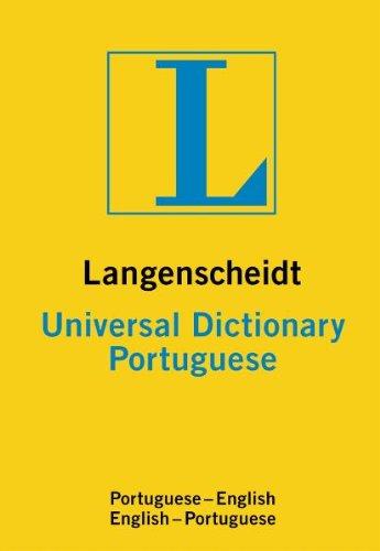 9783468981647: Langenscheidt Universal Dictionary Portuguese-English English-Portuguese