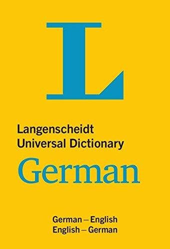 Langenscheidt Universal German Dictionary: German - English / English - German: Langenscheidt ...