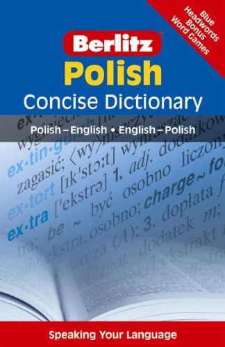 9783468982903: Berlitz Polish Concise Dictionary