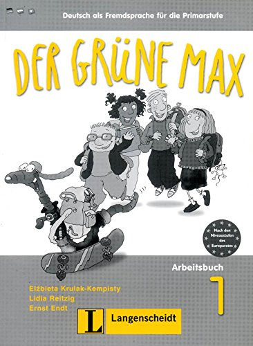 9783468988219: Der Grune Max: Arbeitsbuch 1 MIT Audio-CD (German Edition)